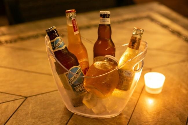 世界のビールバケツやミックスバケツ、カクテルバケツなどもご用意