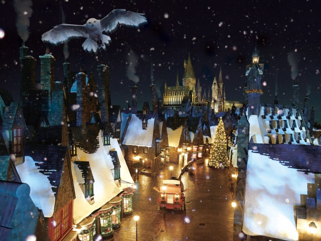 『The Wizarding World of Harry Potter』クリスマスの魔法界