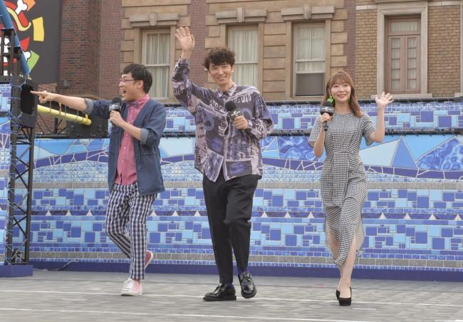 ゲスト声優であるユースケ・サンタマリア、指原莉乃、山里亮太(南海キャンディーズ)がスペシャルゲスト