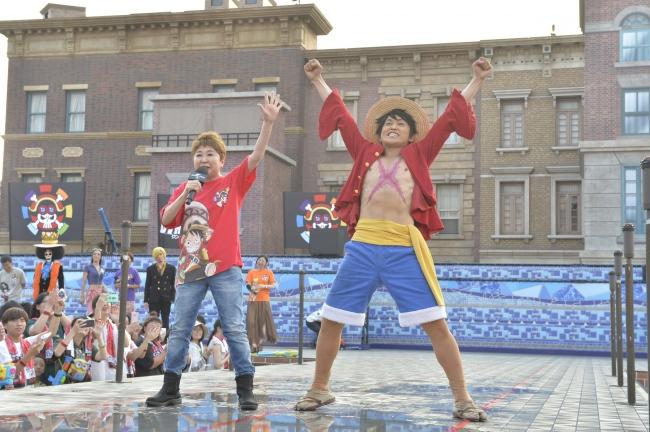 田中真弓、そしてルフィが登場