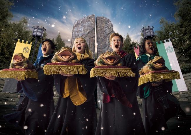 『フロッグ・クワイア』のクリスマスバージョン