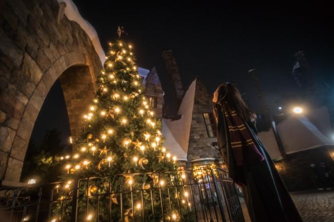 『ホグズミード村のクリスマス・ツリー』