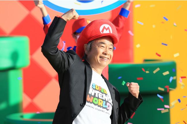 任天堂株式会社 代表取締役フェロー 宮本 茂 様
