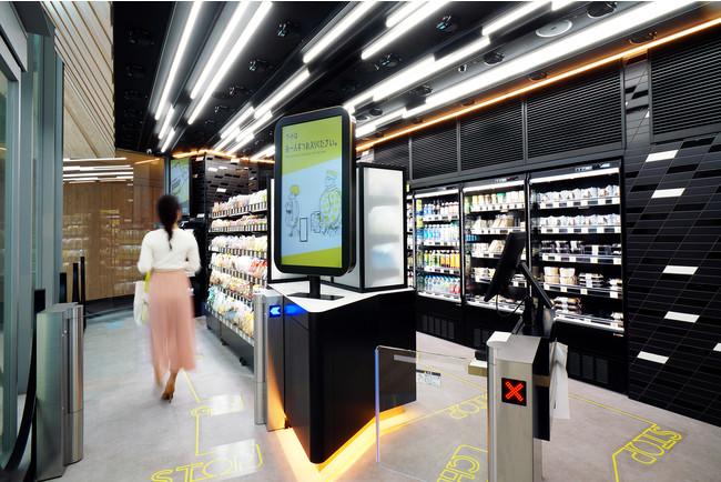 無人決済システム導入店舗イメージ