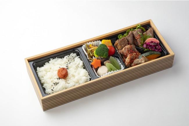 上焼肉弁当1,500円(税込)