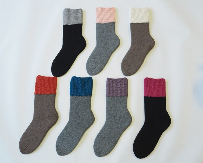 定番3色(写真上)に加え、限定色(売り切れ御免!)を4つ用意してあります。