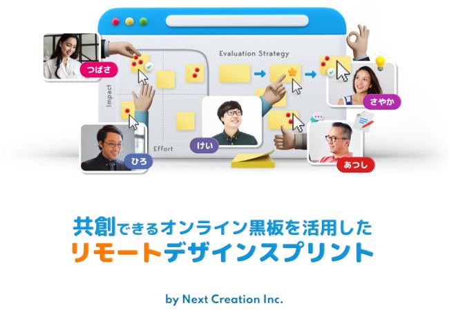 (株)ネクストクリエイションのリモートデザインスプリント
