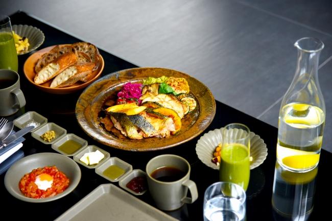 MOGANAのシグネチャー朝食「fukiyose」