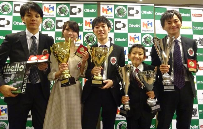 日本人選手(左から 福永さん、  菅原さん、  栗田さん、  高橋さん、  高梨さん)