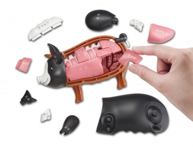 271264d4f4a71 株式会社メガハウス(バンダイナムコグループ、代表取締役社長:奥山嚴/東京都台東区)は、黒豚型の立体パズル『一頭買い!!黒豚パズル』を2018年6月下旬に発売致し  ...