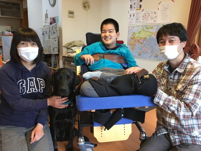 ジオンと山本さんご家族