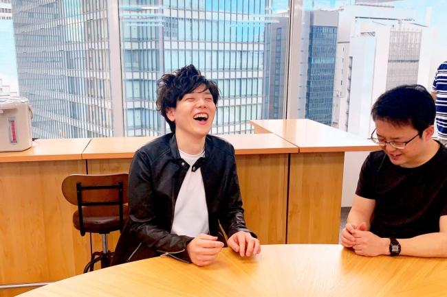 左 代表取締役:吉田 右 生活支援員:西