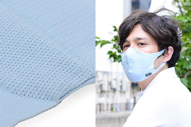 独自開発の特殊メッシュ構造と、生地内側に施した凹凸がドライな装着感をキープ。吸汗・速乾性もバツグン!