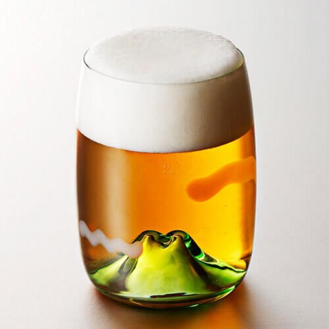 日本の原風景の風情漂うジャポニズムグラス