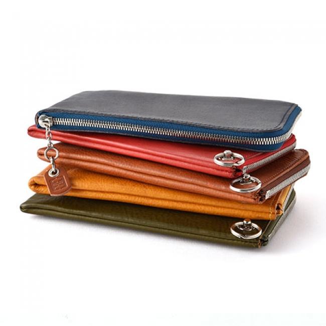薄くて収納性の高いL字ファスナー財布
