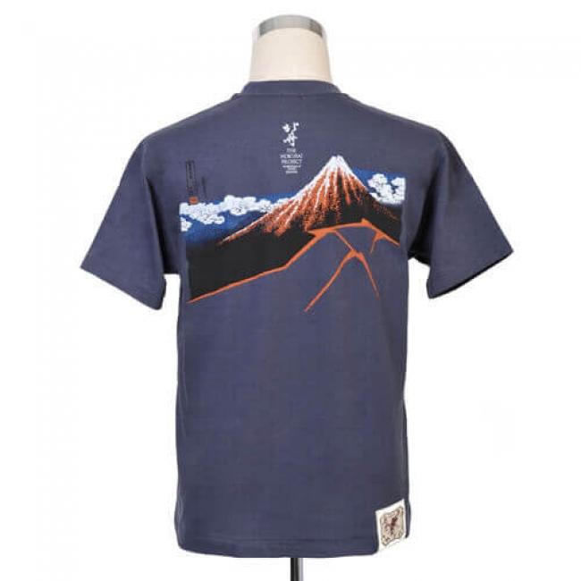 【久米繊維工業】 北斎プロジェクトTシャツ 4,180円(税込)