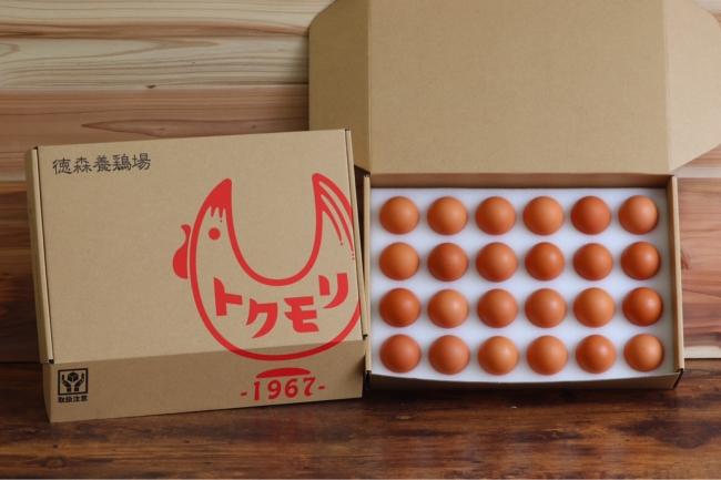 徳森養鶏場のくがにたまご