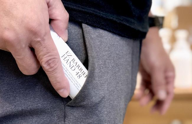 ポケットサイズなので持ち運びに便利。