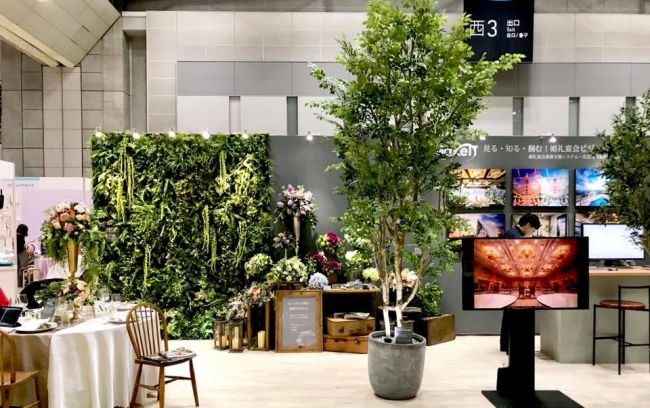 ハンドメイドの人工樹木、高さ5mまで制作できます。