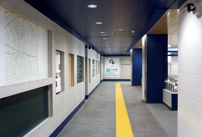サウンドアート『呼吸する駅』が実装された西日暮里駅構内