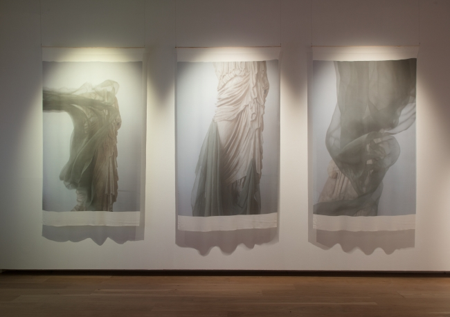 Liz Rideal《Terme di Diocleziano》2017, Fabric Touch and Identity(c)Compton Verney, photography Jamie Woodley