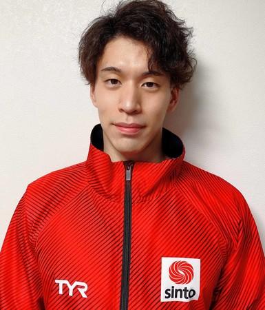 難波暉選手、第97回日本選手権水泳競技大会 男子100m自由形4位入賞、男子50m自由形準優勝のお知らせ:時事ドットコム