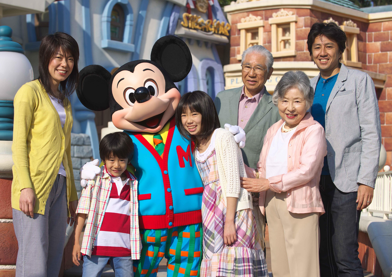 家族で楽しめる : 親孝行ディズニー!親に楽しんでもらうための5か条