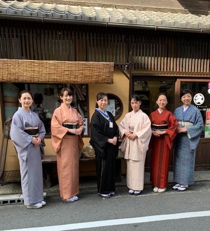 レッスン会場・京都本店の雰囲気