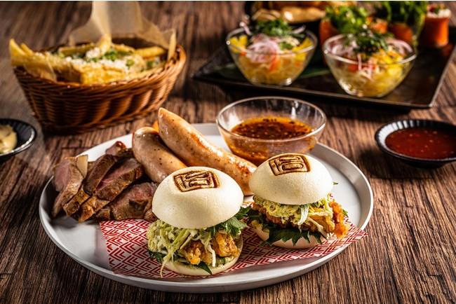 アジアのエッセンスを詰め込んだバラエティ豊かな料理の数々