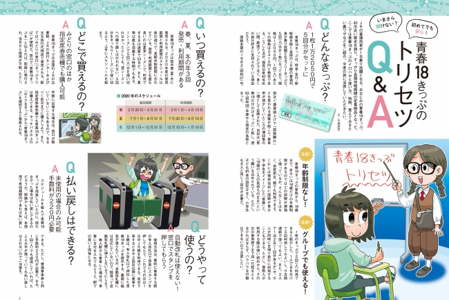 きっぷ 青春 2021 18