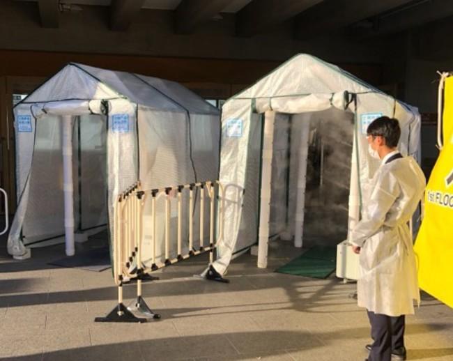 [11月13日(金)、14日(土)2days日本武道館で行われた清水翔太さんのLIVE会場入り口で使われた MIOXゲートの様子]