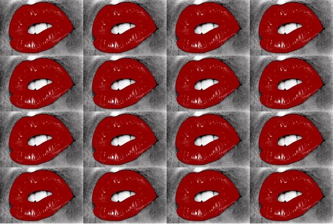 Untitled (Lips) 2019 (C)︎Daido Moriyama Photo Foundation, Courtesy of Akio Nagasawa Gallery