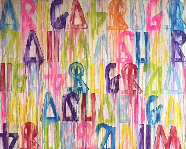 ARIGATOUGOZAIMASU BYF 020H-28 LIFE IS WATER No.1 2021 キャンバスにアクリル