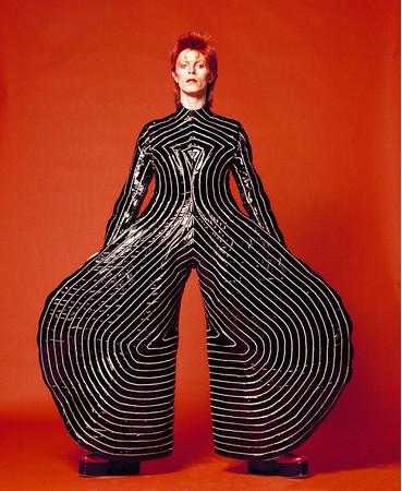 """David Bowie, Watch That Man III, 1973"" @Sukita、無断転載禁止"