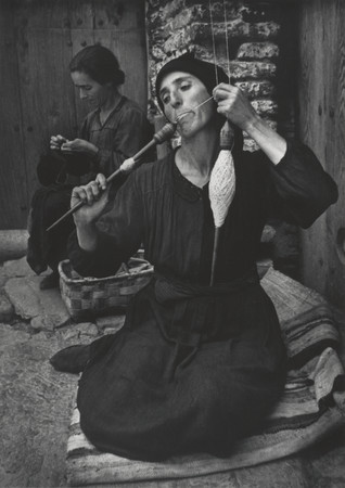 'The Spinner,' Spanish Village. ©1950, 2021 The Heirs of W. Eugene Smith