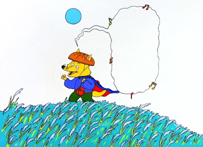 「かいけつゾロリのドラゴンたいじ」第1巻 挿絵(原画) (C)原 ゆたか/ポプラ社