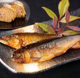 炭火焼子持ち鮎の甘露煮