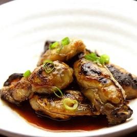 牡蠣の蒲焼き