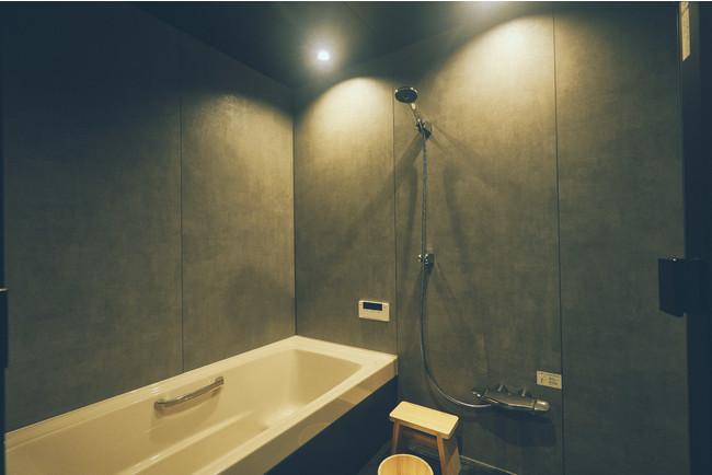 最新設備のお風呂