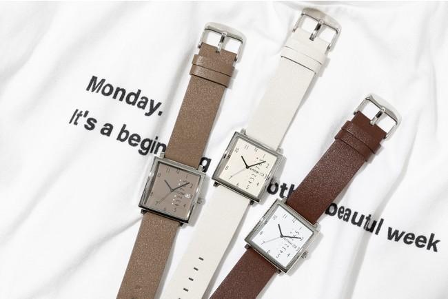 時計各¥18,700(税込み)
