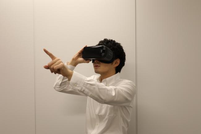 VR体験(イメージ)