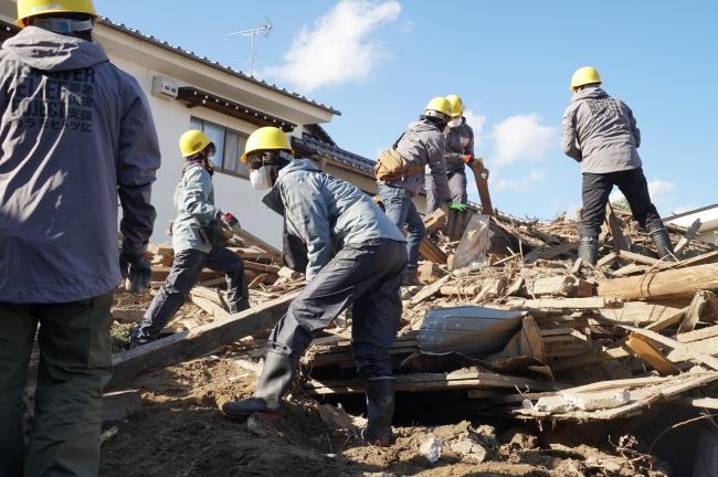 2019年11西日本豪雨災害支援活動