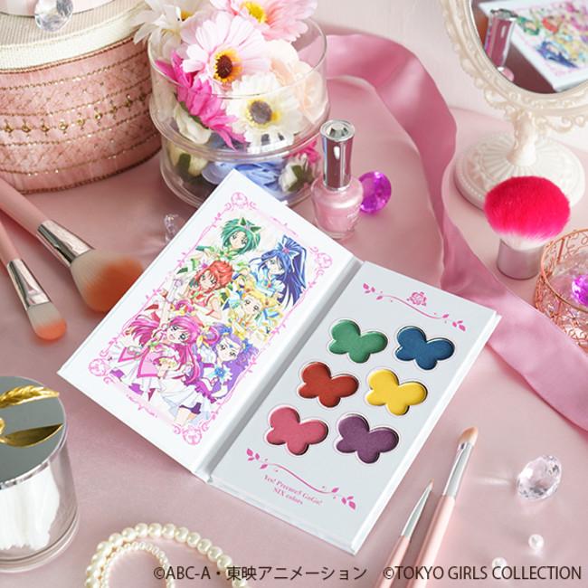 ●Yes!プリキュア5GoGo!コスメパレット2,680円(税別) *こちらの商品は限定商品ではありません。