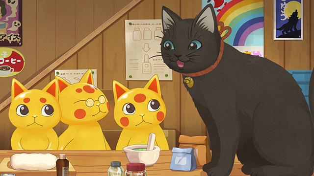 第24話「銭天堂と金色の招き猫」より