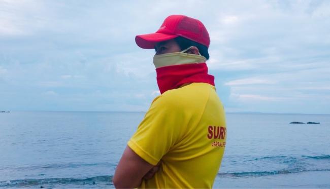 夏場や運動時にマスクやフェイスシールドはかなり負担がかかる