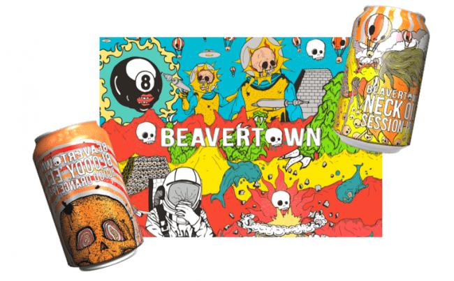 """ロンドンで爆発的な人気のクラフトビール""""BEAVER TOWN"""""""