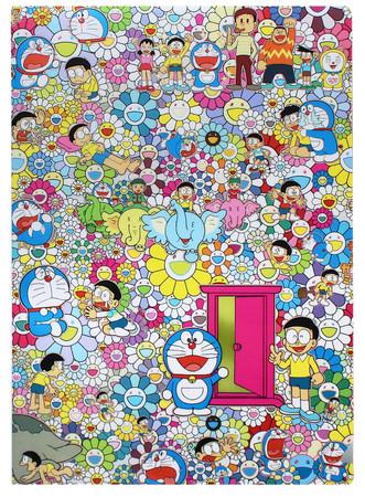 オリジナルクリアファイル/(C)2017 Takashi MurakamiKaikai Kiki Co., Ltd. All Rights Reserved. (C) Fujiko-Pro