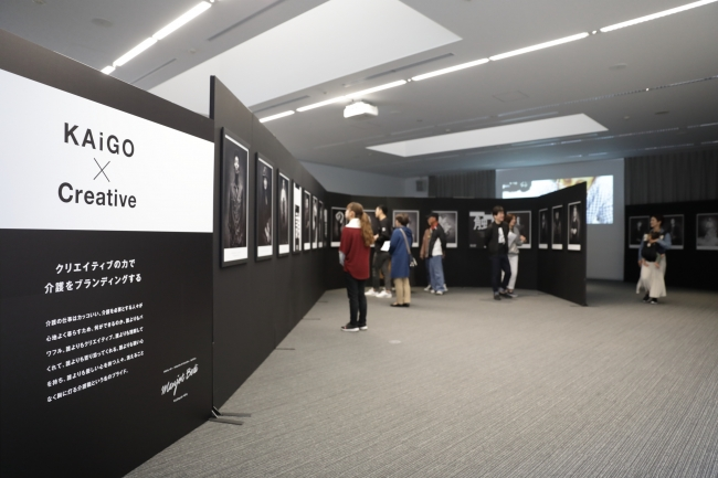 2019年熊本でのポートレート作品展示の様子