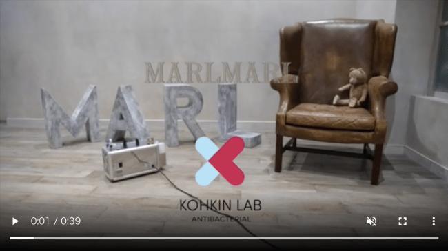 MARLMARL公式ホームページにて、丸の内店での施工シーンが動画公開されています。