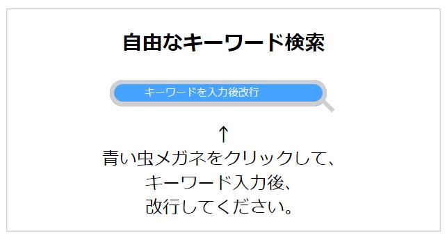 自由なキーワード検索(2)